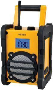 DENVER WR-40 Persönlich Digital Schwarz - Gelb Radio