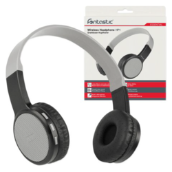 Fontastic Essential Bluetooth On-Ear Kopfhörer HP1+ Mic, Grau