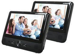 Denver 9 LCD-Bildschirm mit DVD-Player MTW-984TWIN