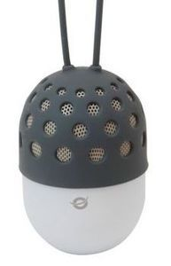 Conceptronic Wirel. Blueto. Waterproof LED Light Speaker grau