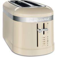 KitchenAid Design Collection Toaster 4-Scheiben crème (5KMT5115EAC)