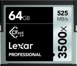 Lexar CFast 2.0 - 64GB Speicherkarte Kompaktflash