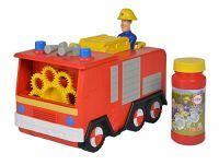 Simba Feuerwehrmann Sam Seifenblasen Jupiter, Spielfahrzeug