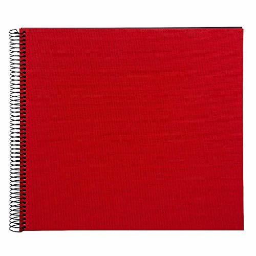 Goldbuch Bella Vista spiraal album 35x30 red zwarte bladen (520001241)
