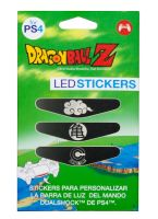 Dragon Ball PS4 3 Led Stickers Pack Englisch