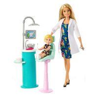 Mattel BRB Zahnärztin Puppe und Spielset, blond (57133066)