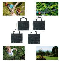 4er Packung Easy WORK Gartenabfallsack 140 l NEU OVP