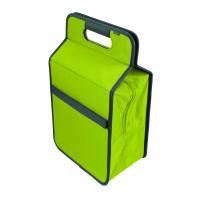 Meori Kühltasche L Spring Green Solid - mit Flascheneinsatz •Hält Getränke und Snacks kühl •Für Snac