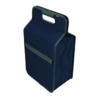 Meori Kühltasche L Marine Blue Solid - mit Flascheneinsatz •Hält Getränke und Snacks kühl •Für Snac