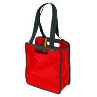 Meori Faltbare Einkaufstasche S Hibiscus Red