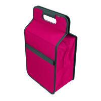 Meori Kühltasche L Berry Pink Solid mit Flascheneinsatz