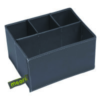 Meori Faltbox Einsatz Mini 3+1 Solid dunkelgrau