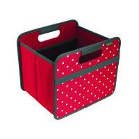 Meori Faltbox S Hibiscus Red Dots