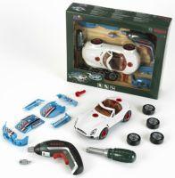 Theo Klein Klein, Car Tuning Set mit Akkuschrauber Ixolino, Bosch, 25x30x6,5cm, 8630