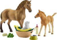 Schleich Horse Club        42432 Sarahs Tierbaby-Pflege
