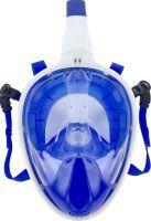 Xtrem Toys & Sports Full Face Schnorchel-Maske blau-weiß (77203249)