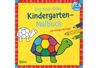 Carlsen Das neue, dicke Kindergarten-Malbuch (66930980)