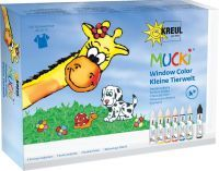 Kreul MUCKI Window Color Set Kleine Tierwelt (24451)