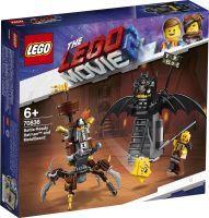LEGO®, Einsatzbereiter Batman™ und EisenBart 70836, LEGO Movie™ 2, 4,6x20,5x19,1 cm, 168 Teile, 70836