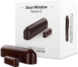 Net Haus Sensor Tür/Fenster FIBARO FGDW-002-7 ZW5 [Dunkelbraun] (FGDW-002-7 ZW5)