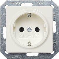 Siemens 5UB1518 Steckdose mit Kinderschutz I-Sytem titanweiss