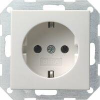 GIRA 018803 SCHUKO-Steckdose Reinweiß glänzend