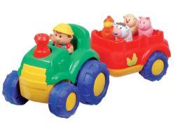 Traktor mit Tierstimmen