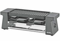 SPRING schwarz Raclette 2 Compact ()