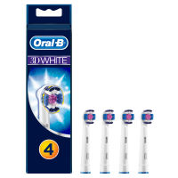 Oral-B Ersatz-Zahnbürste - 152569 Oral-B 3DWhite 3er+1