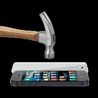 MLINE, 2,5D Hammerglas für Apple iPhone 5/5S/