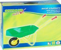 Outdoor active OA Schubkarre-Metall,grün/gelb (71301010)