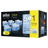 Braun Clean & Renew CCR 5+1 Reinigungskartuschen