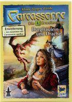 Asmodee Carcassonne 3 Burgfräulein & Drache (61108599)