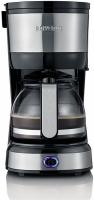 Severin Kaffeemaschine KA4808 edelstahl-gebürstet/schwarz
