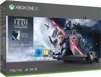 Microsoft Xbox One X 1TB  USK16 inkl Star Wars Jedi Fallen Order