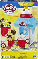 Hasbro Play Doh, Knete, Popcornmaschine, Kitchen Creations, 18 Teile, E5110EU4