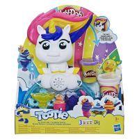 Hasbro Play Doh, Knete, Buntes Einhorn, Knete und Zubehör, 8 Teile, E5376EU4