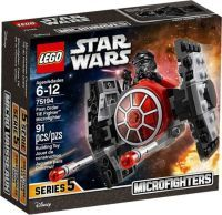 LEGO®, First Order TIE Fighter™ Microfighter 75194, Star Wars™, 4,6x14,1x12,2 cm, 91 Teile, 75194