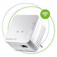 Devolo WiFi Mini Einzeladapter Powerline-Adapter, WLAN-Access Point 8559 Magic 1 WiFi Mini