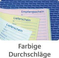 Avery Zweckform, Auftrag-/Lieferschein-/Rechnungbuch, A5, 3x40 Blatt, 1749