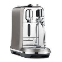 Sage Nespresso Maschine Creatista Plus anthrazit