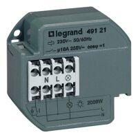 Legrand Treppenlichtzeitschalter elektronisch UP 1-60Min. 230V 1S 10A Nulldurchgangssch.