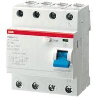 B-Ware ABB Sace Fehlerstrom-Schutzschalter F204AC-63/0,03