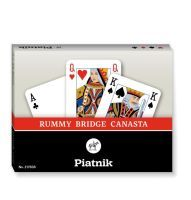 Piatnik RUMMY BRIDGE CANASTA 217838