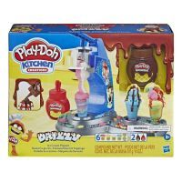 Hasbro Play-Doh Drizzy Eismaschine mit Toppings E66885L0