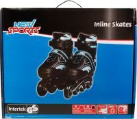 New Sports NSP Inliner Blau, ABEC 7, Gr. 31-34 (73421926)