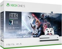 Microsoft Xbox One S 1TB USK 16 inkl Jedi Star Wars Fallen Order