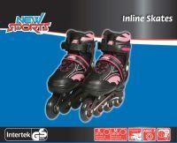 New Sports NSP Inliner Pink, ABEC 7, Gr. 31-34 (73421918)