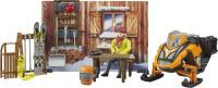 bruder bworld Berghütte mit Snowmobil (33112513)
