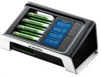 Varta Ladegerät LCD 15 min Ultra Fast Charger inkl. 4xAA 2400 mAh + 12 Volt